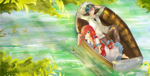Eine Bootsfahrt die ist lustig~ by Sternenmelodie