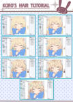 coloring hair in manga studio 5- kuro's way-