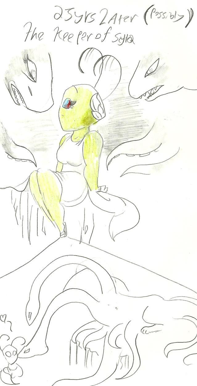 scylla and SCYLLA by anonymousinvader24