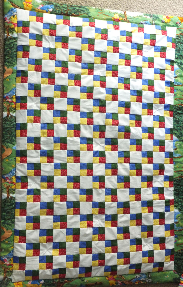 Baby Quilt Patterns Nz : Whinnie the Pooh Baby Quilt by Lesh4537 on deviantART