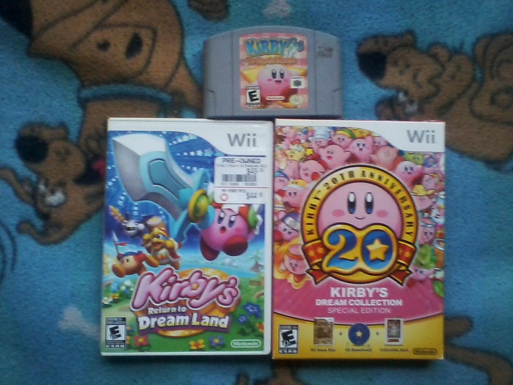 Console Kirby 2 by EternalCyclops