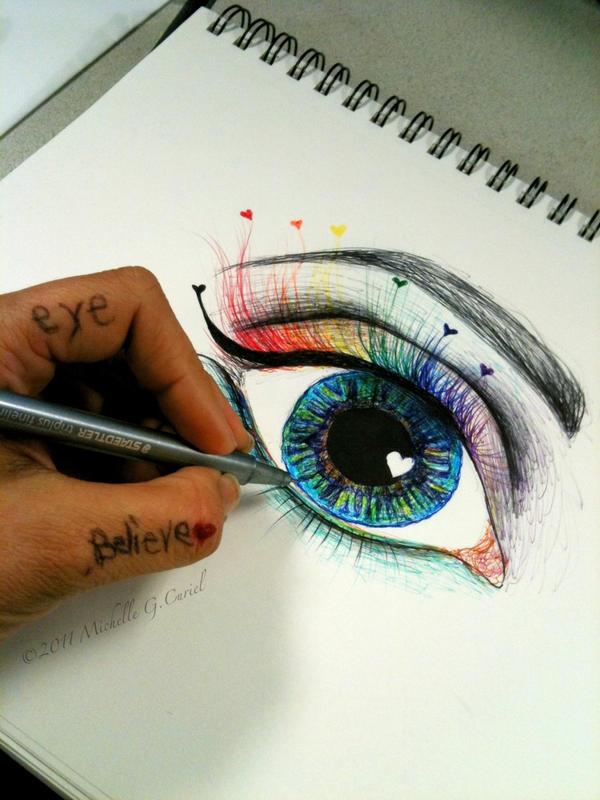 Eye Believe by artisticalshell