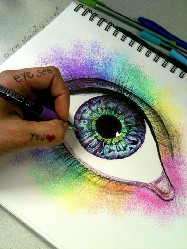 Eye see your true colors by artisticalshell