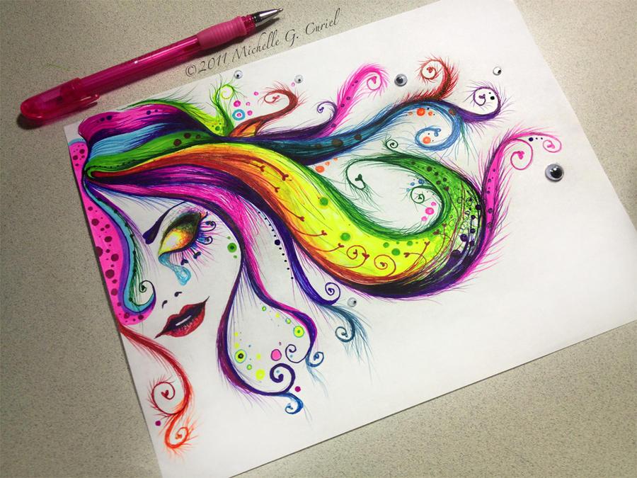 Rainbow Tears by artisticalshell