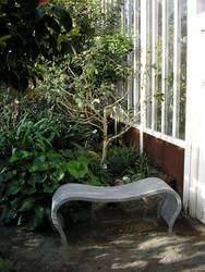 Greenhouse bench by Luna2-stock