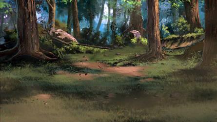 Hidden Leaf Village|#Forest #2 (Version 2)