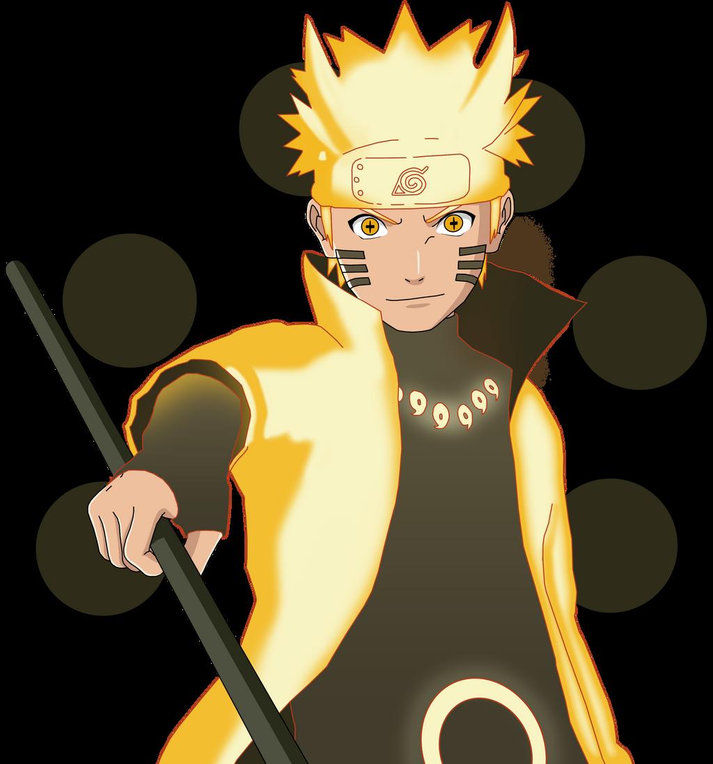 Naruto Shippuden: Naruto Uzumaki (Six Paths Mode) By