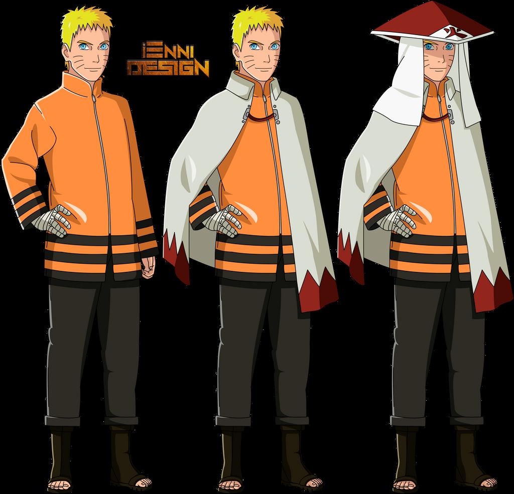 Boruto Naruto: Naruto Uzumaki By IEnniDESIGN