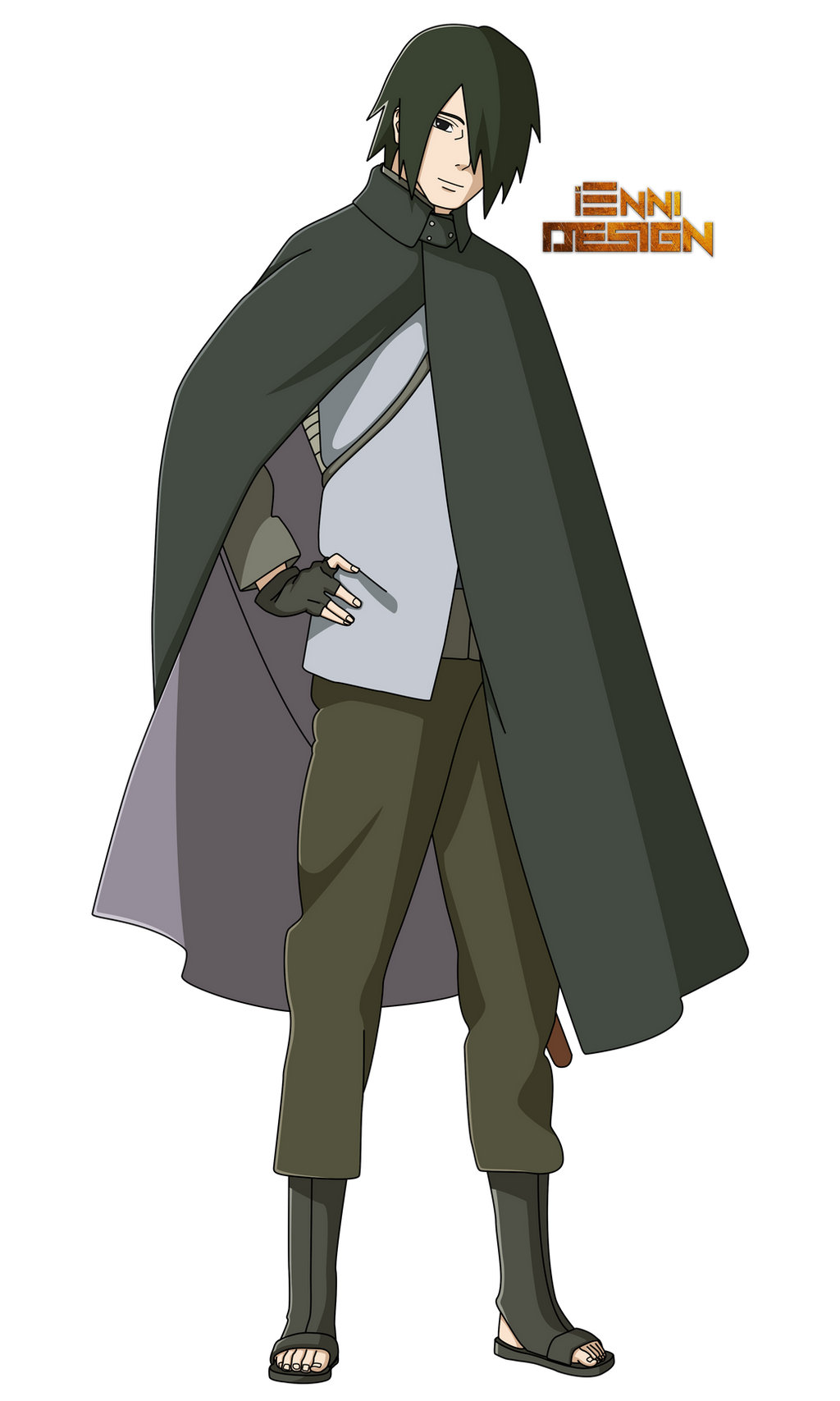 Boruto: The Next Generation|Sasuke Uchiha by iEnniDESIGN ...