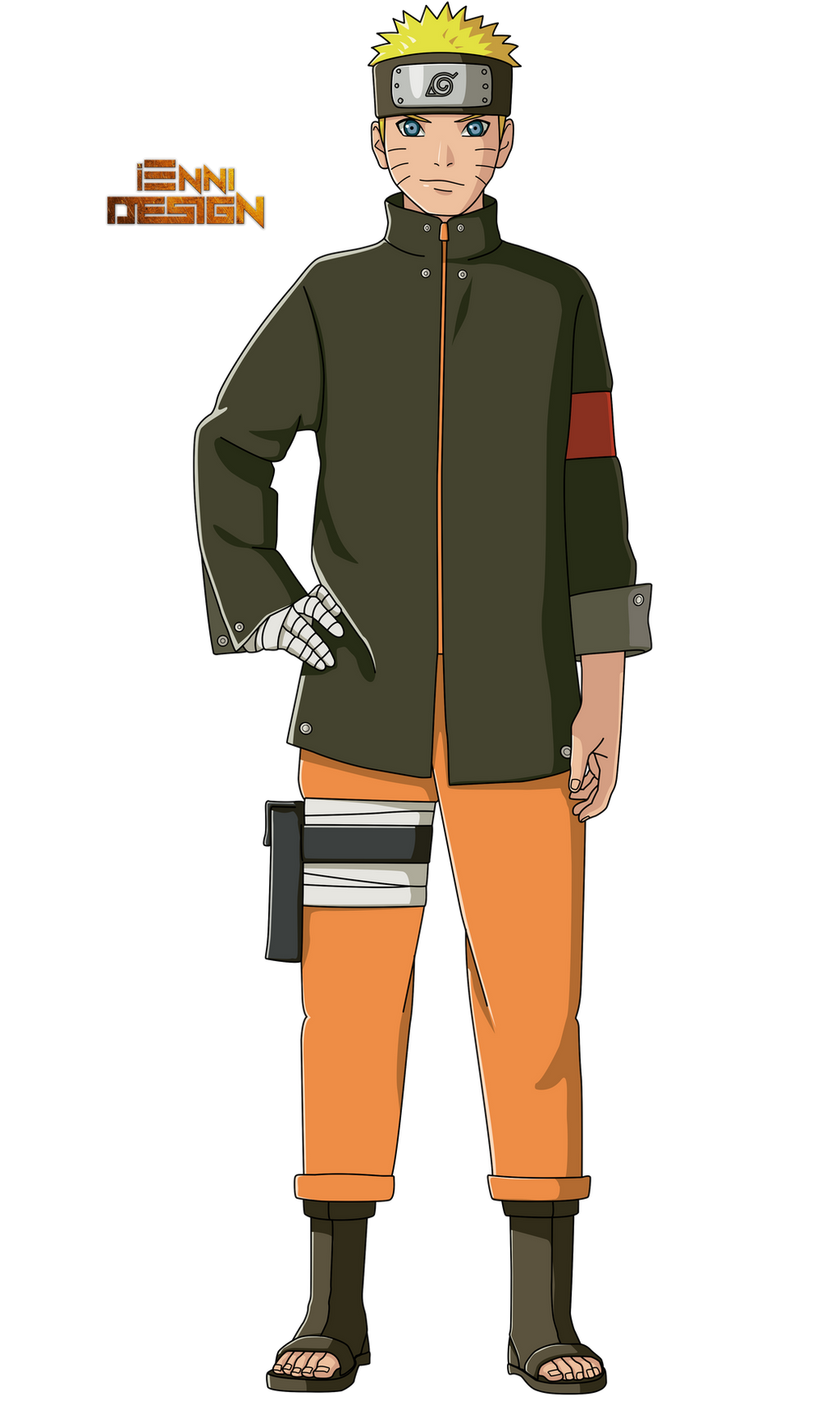 Naruto The Last Character Design Color : The last naruto movie uzumaki by iennidesign