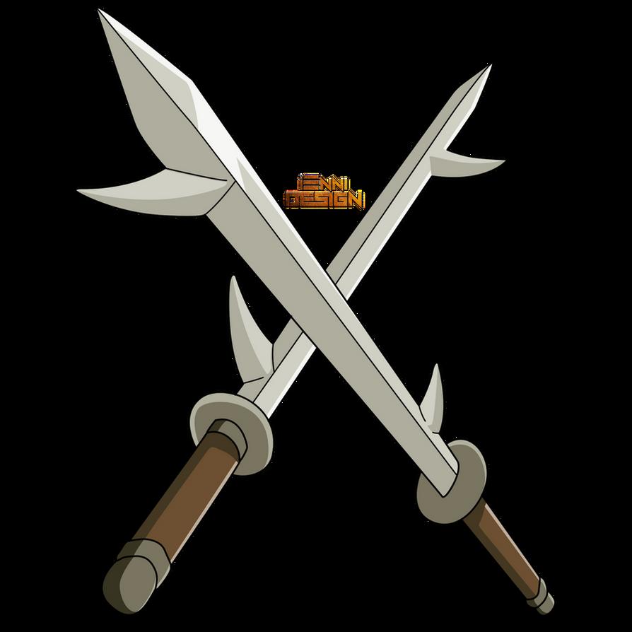 Naruto Shippuden|Fangs Sword (Kiba) by iEnniDESIGN on ...
