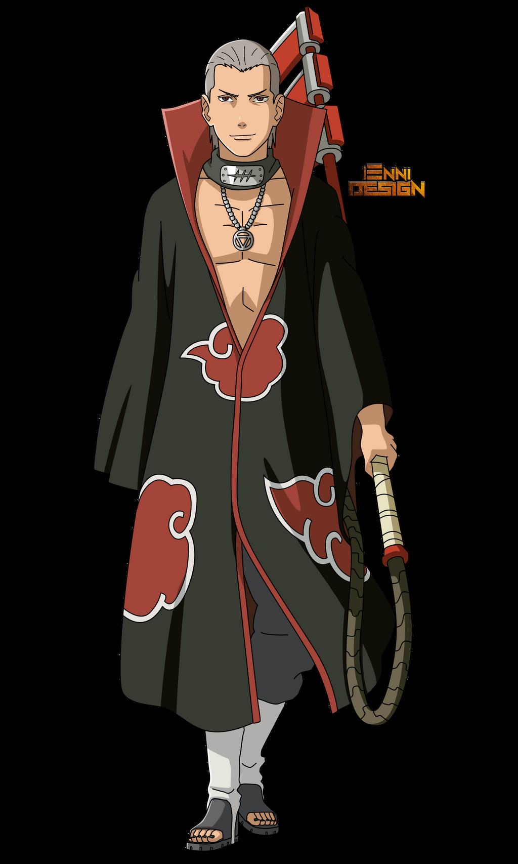 Naruto Shippuden|Hidan (Akatsuki) by iEnniDesign on DeviantArt