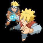 Boruto:Naruto Next Generation|Boruto and Naruto