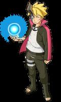 Boruto:Naruto Next Generation Boruto (Momoshiki)