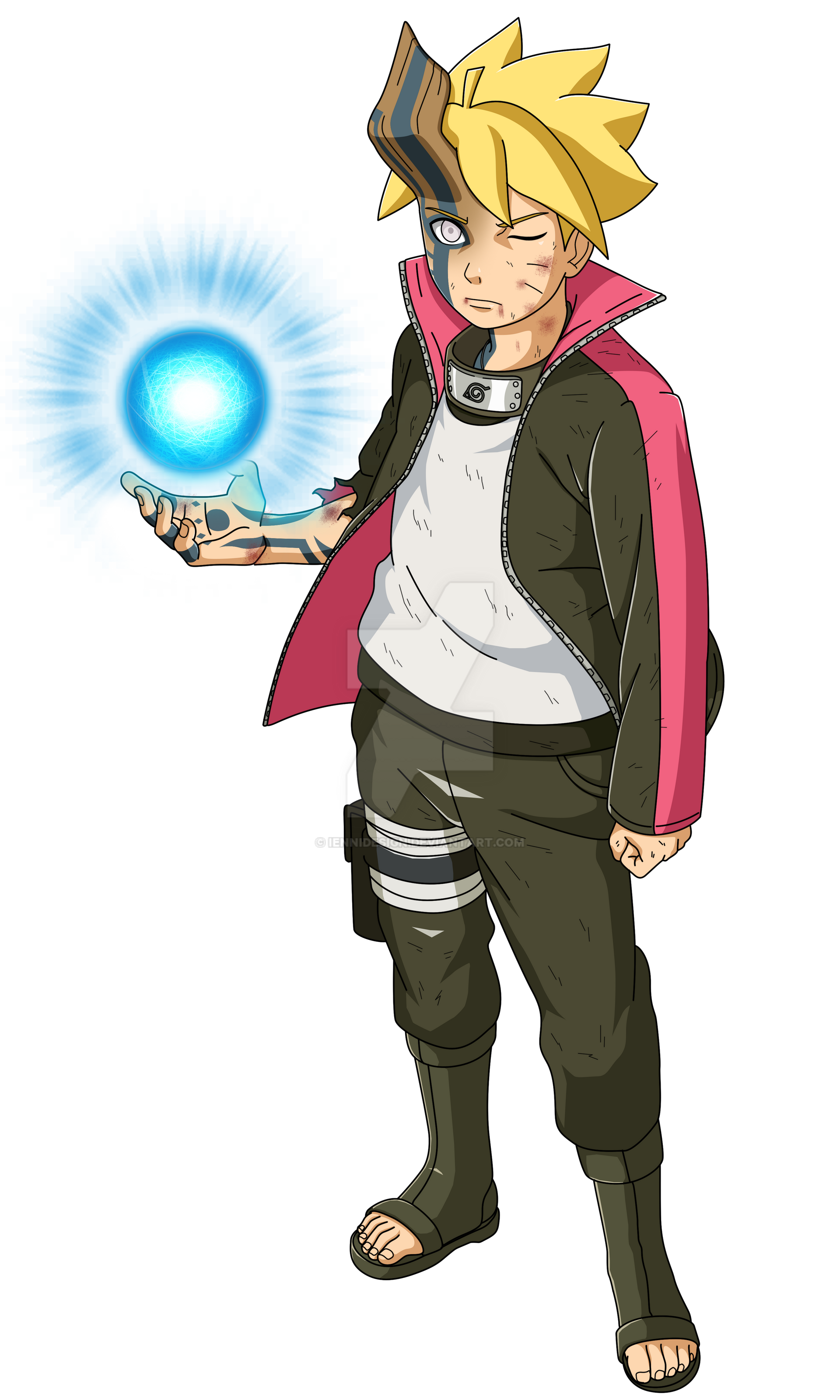 Boruto:Naruto Next Generation|Boruto (Momoshiki) by iEnniDESIGN on DeviantArt