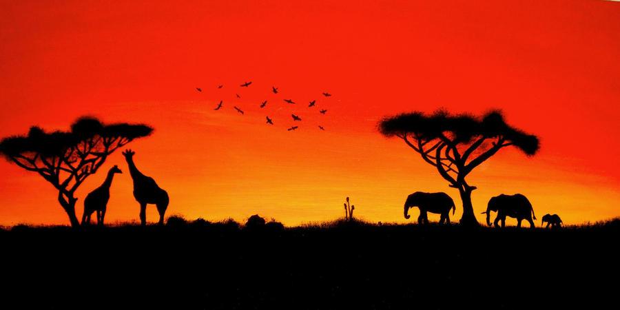 African Sunset by Deadmatt2052 on DeviantArt