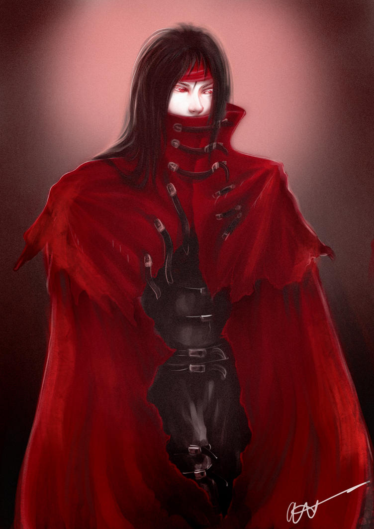 Vincent Valentine by anetapaulina