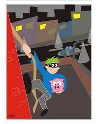 Pig Thief by Rawrik