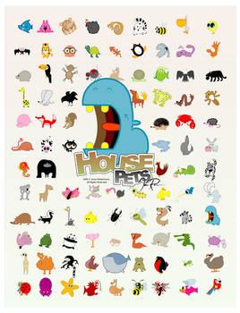 House Pets - 96 Animals