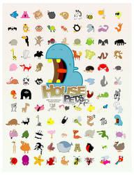House Pets - 96 Animals by Rawrik
