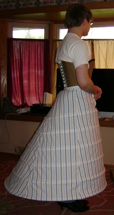 how to make a crinoline skirt video