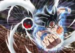 Goku Ultra Instinct vs Jiren!