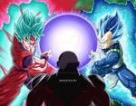 Goku and Vegeta vs Jiren!