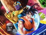 Goku vs Thanos!