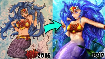 Mermaid Redraw!