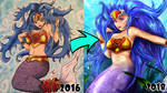 Mermaid Redraw!