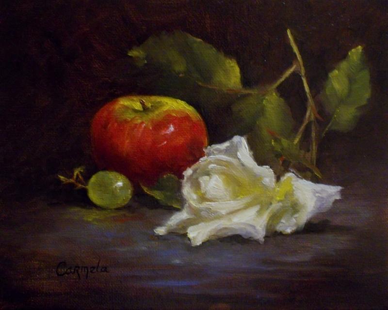 Fallen Rose by cordsbrennan
