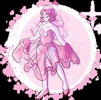 Pink Pearl-I'm back by LiliLavenderArt
