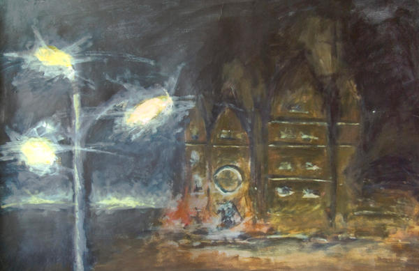 CS Cathedral at Night by mazurada