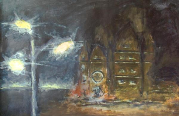 CS Cathedral at Night