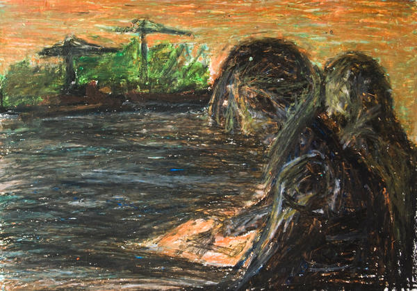 Tessa and Mariken on the Bay