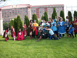 Anime North 2012: Avatar shoot by VikingScarecrow