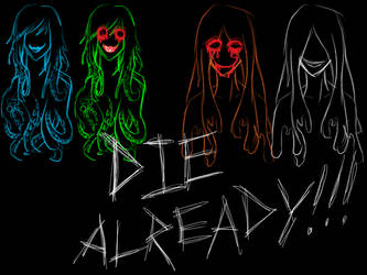 DIE ALREADY!!! [Vocaloid Hallowe'en song cover] by VikingScarecrow