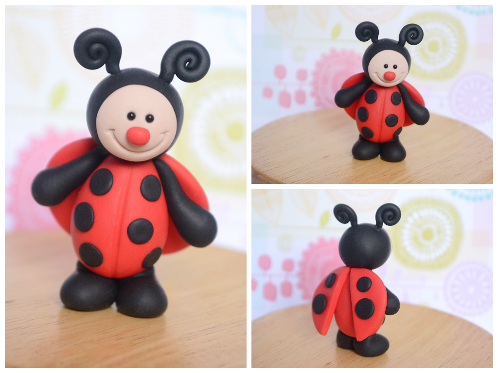 Ladybug Cake Toppers For Sale