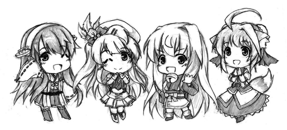 Most Favorite Characters by tenkaminari