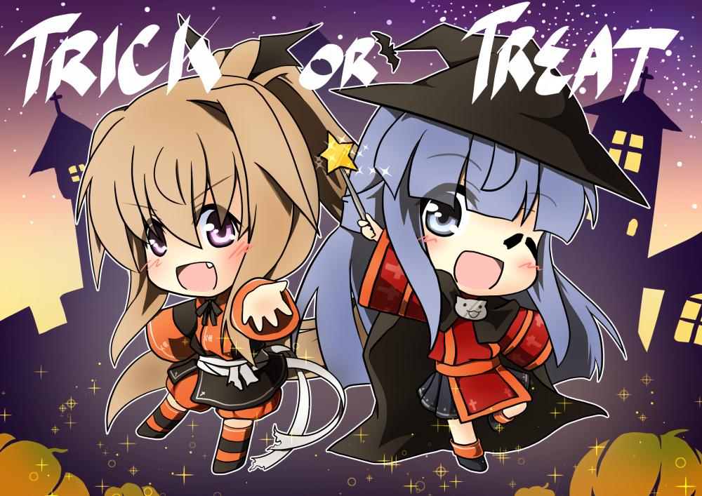 Trick or Treat by tenkaminari