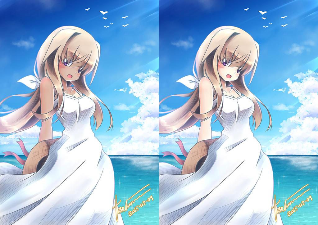 Sisaka-chan Summer Dress by tenkaminari