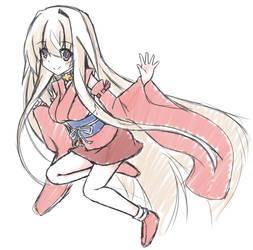 Sisaka-chan's old costume by tenkaminari