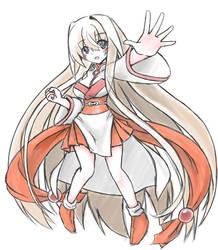 Sisaka-chan's old costume 2 by tenkaminari