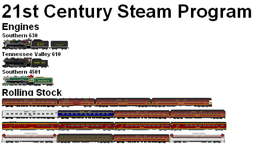 21st Century Steam Program by NewYorkCenteralfan01