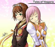Tales of Vesperia Rita Estelle by Dreamer128