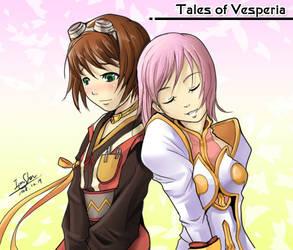 Tales of Vesperia Rita Estelle