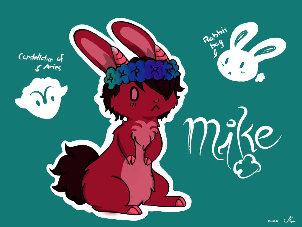 Bunny Personiac: Mike by Deathwhisper123