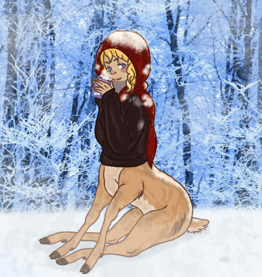 Seasons Greetings by Bubbletea-Coyote