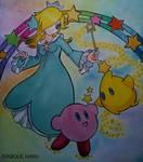 Rosalina, Luma and Kirby