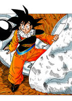 Goku by Pikelations